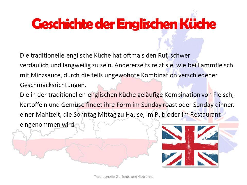Geschichte der Englischen Küche