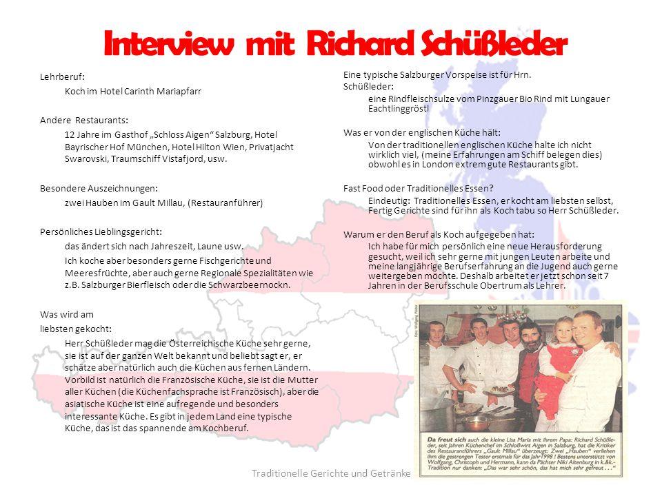 Interview mit Richard Schüßleder