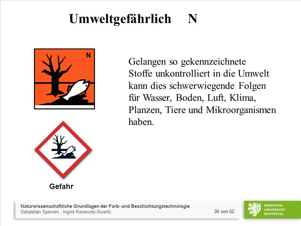 Umweltgefährlich N
