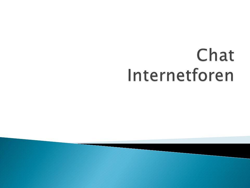 Chat Internetforen