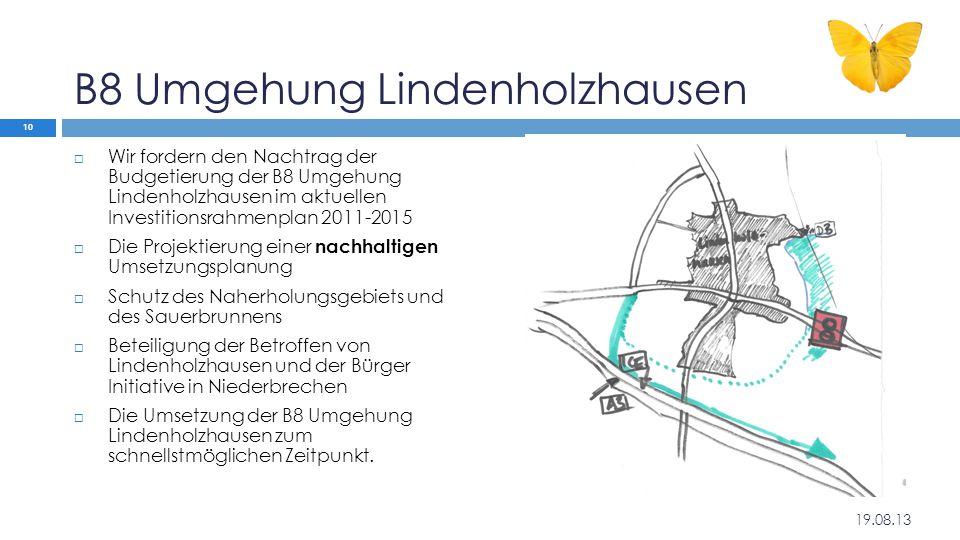 B8 Umgehung Lindenholzhausen