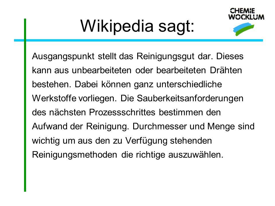 Wikipedia sagt: