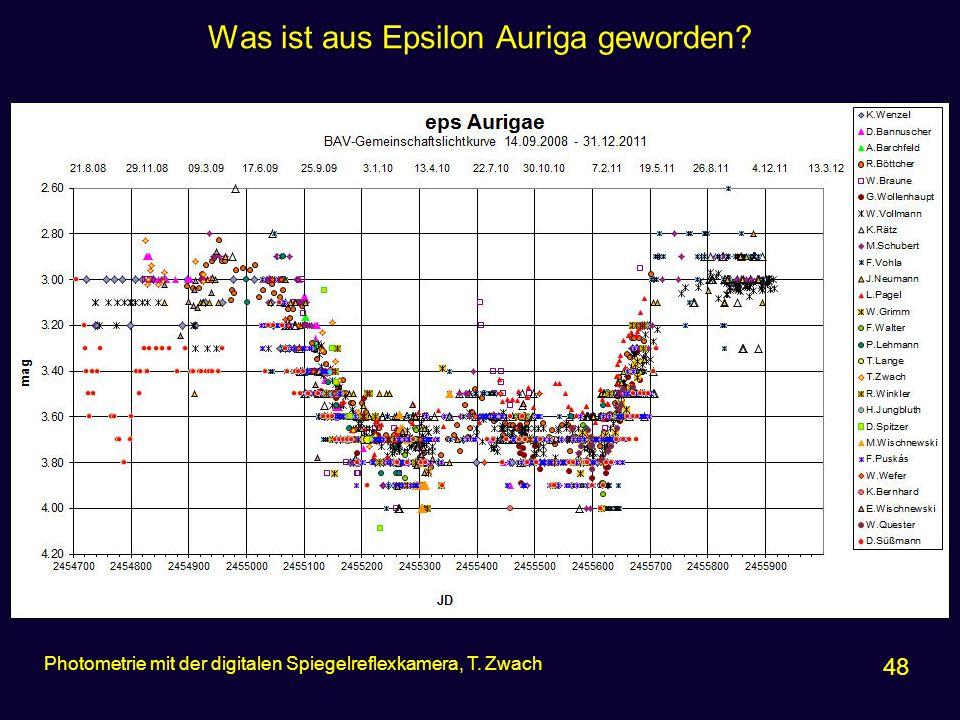 Was ist aus Epsilon Auriga geworden
