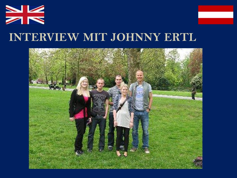 INTERVIEW MIT JOHNNY ERTL