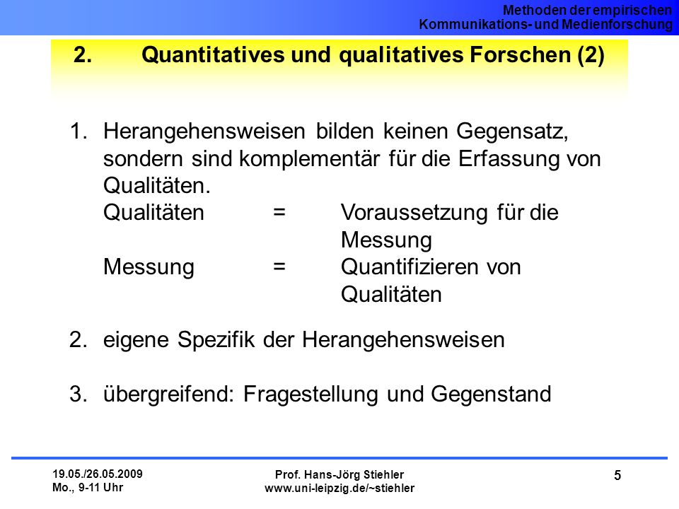 Quantitatives und qualitatives Forschen (2)