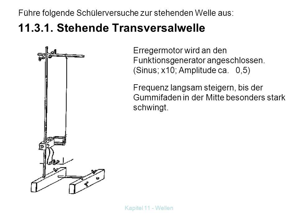 11.3.1. Stehende Transversalwelle