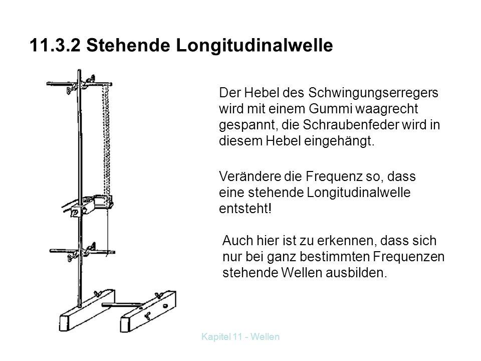 11.3.2 Stehende Longitudinalwelle