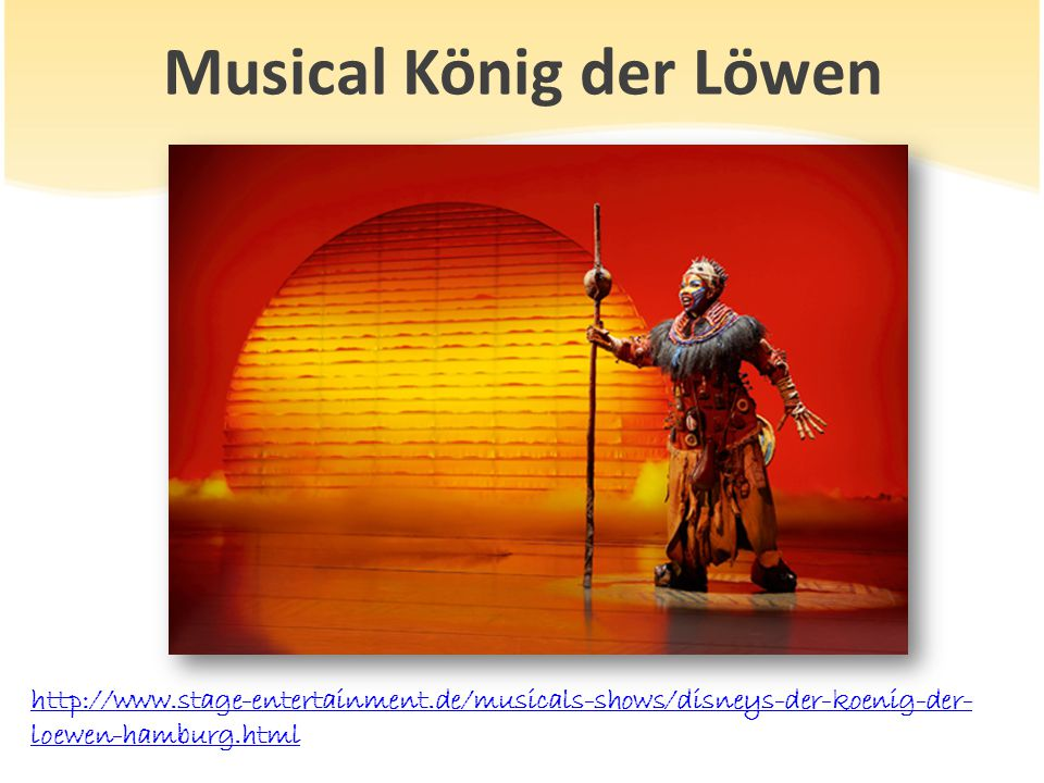 Musical König der Löwen