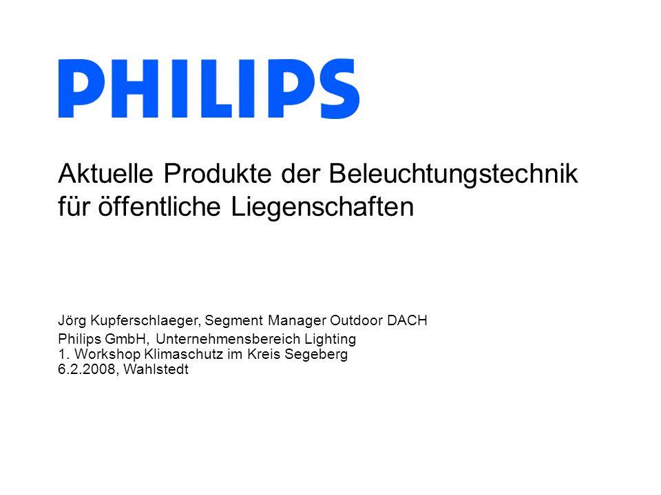 Aktuelle Produkte der Beleuchtungstechnik für öffentliche Liegenschaften