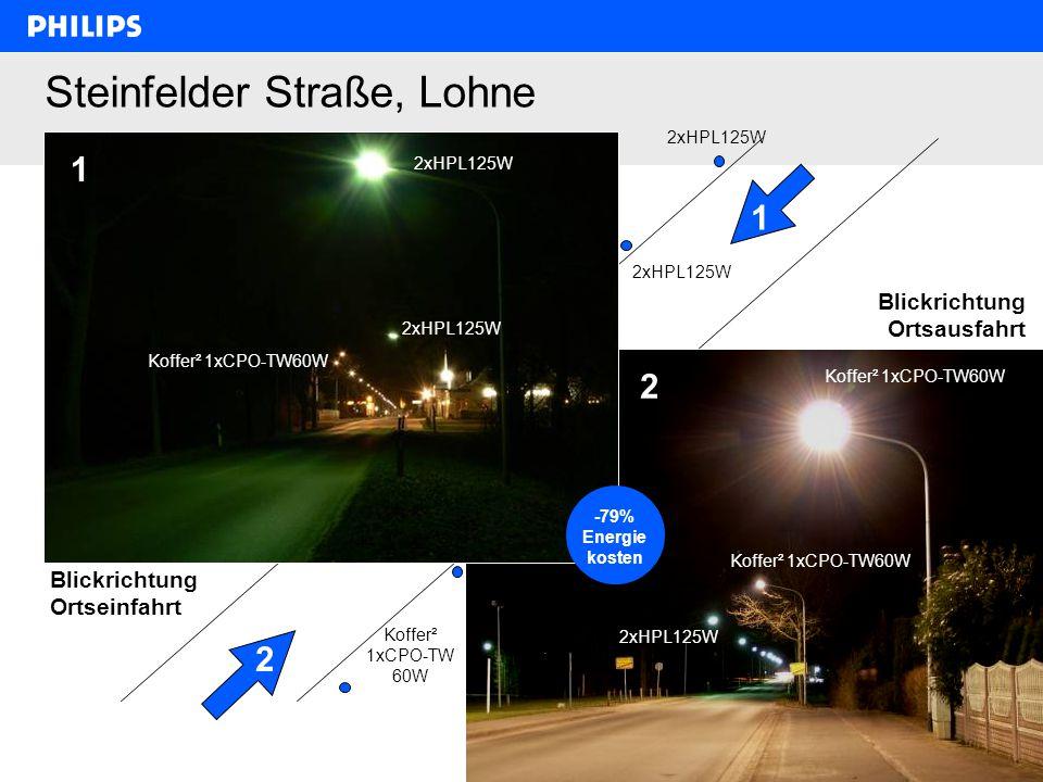 Steinfelder Straße, Lohne