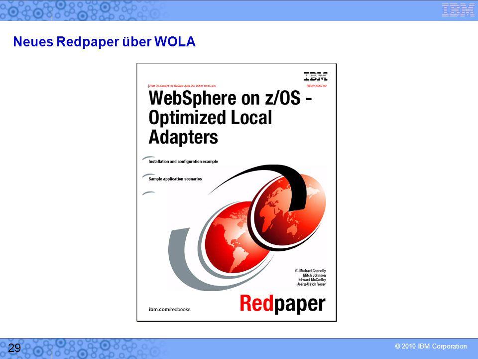 Neues Redpaper über WOLA