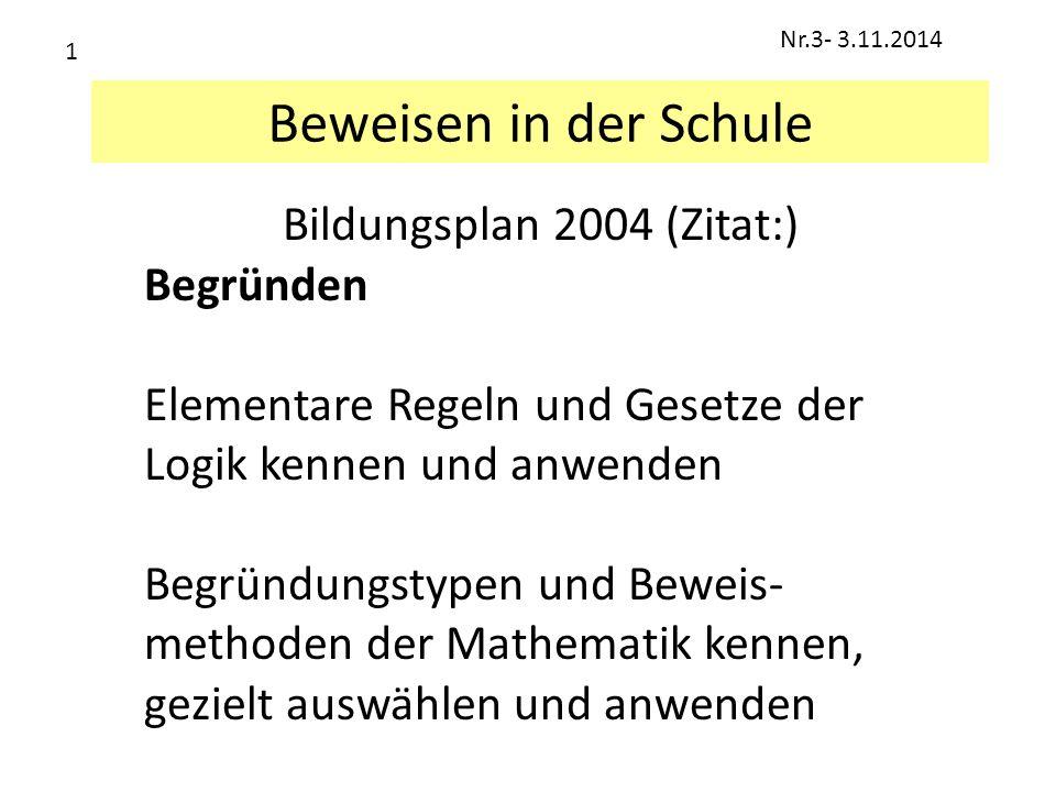 Bildungsplan 2004 (Zitat:)