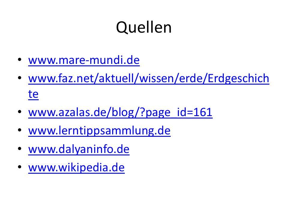 Quellen www.mare-mundi.de