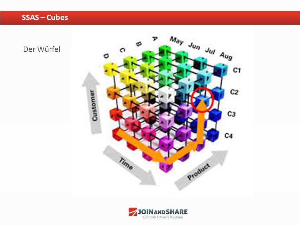 SSAS – Cubes Der Würfel