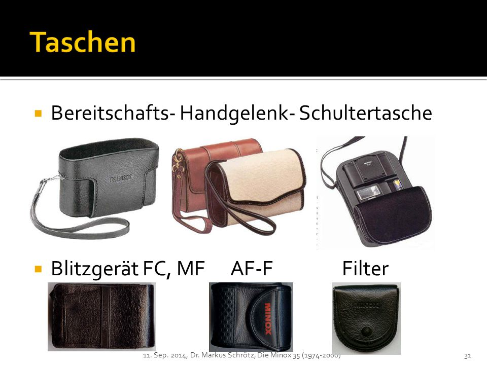 Taschen Bereitschafts- Handgelenk- Schultertasche