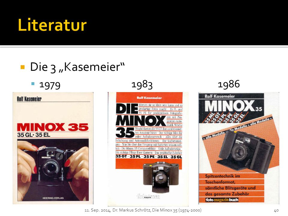"Literatur Die 3 ""Kasemeier 1979 1983 1986"