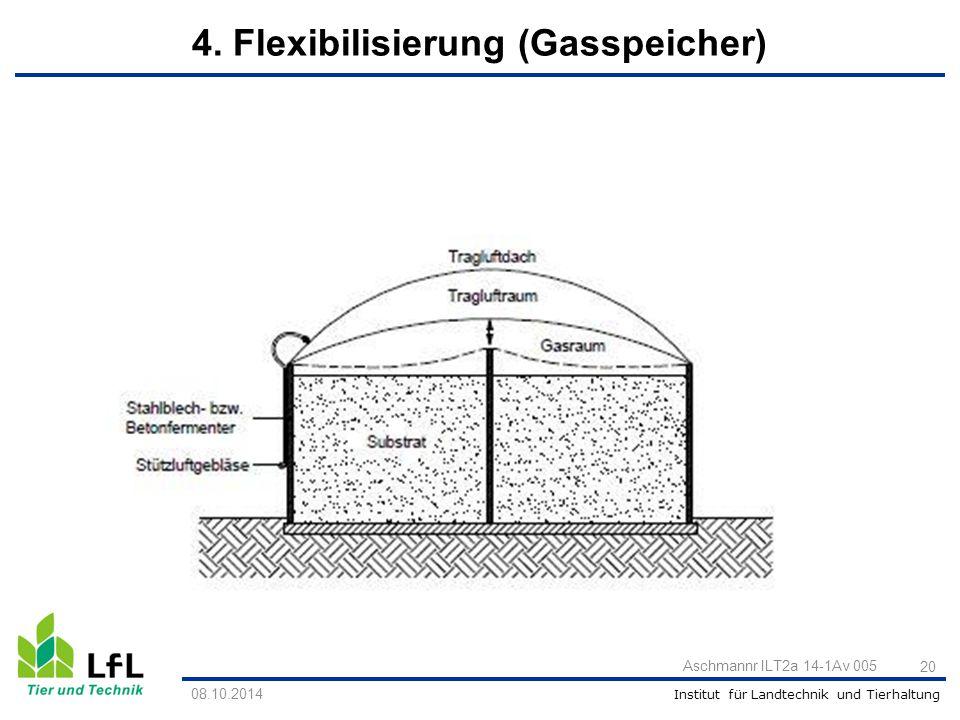 4. Flexibilisierung (Gasspeicher)