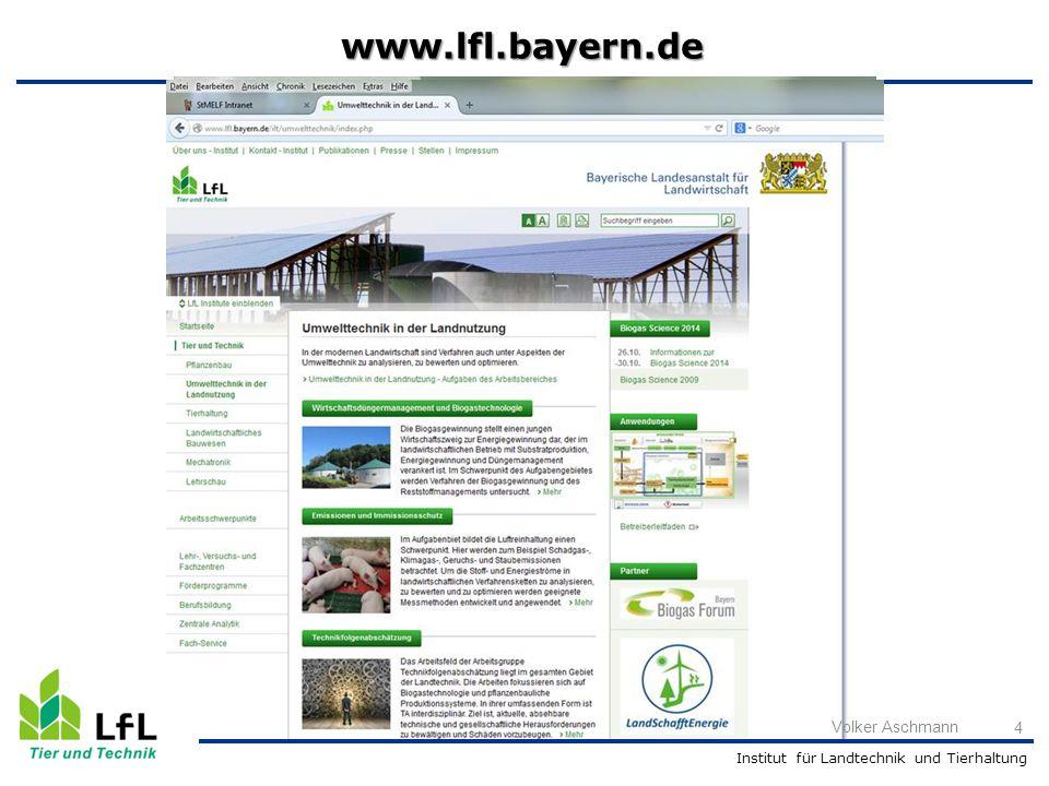 www.lfl.bayern.de Volker Aschmann