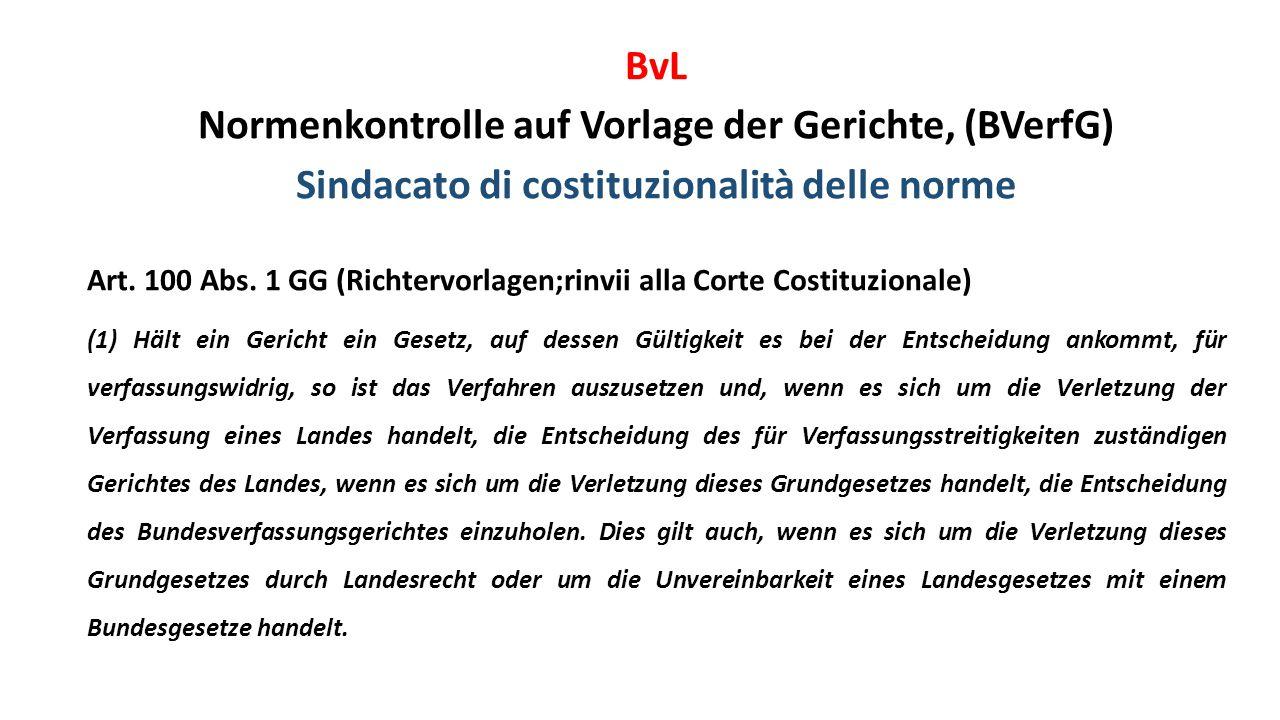 Normenkontrolle auf Vorlage der Gerichte, (BVerfG)