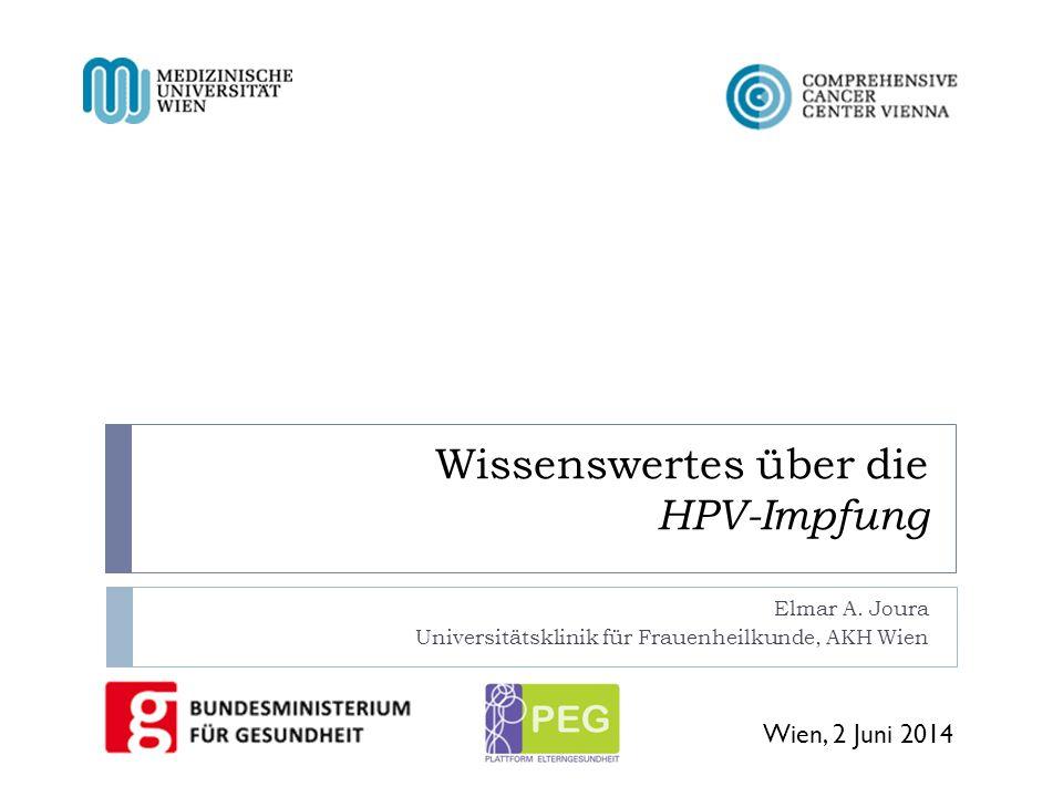 Wissenswertes über die HPV-Impfung