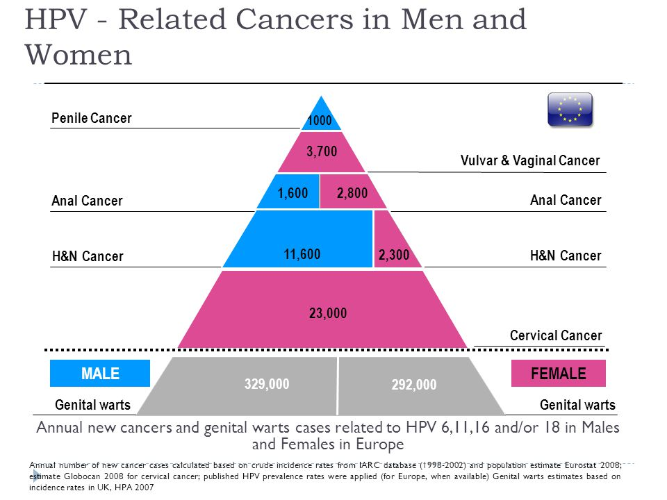 HPV - Related Cancers in Men and Women