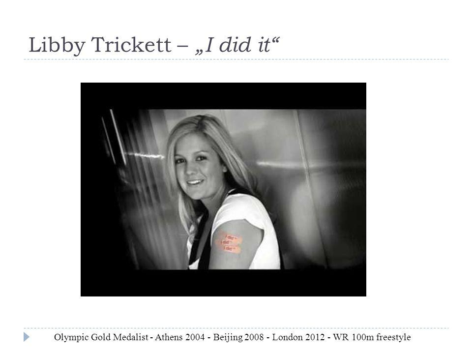 """Libby Trickett – """"I did it"""