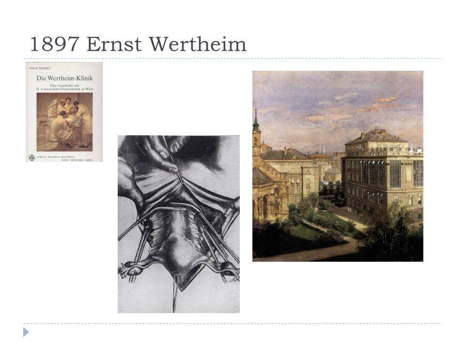 1897 Ernst Wertheim