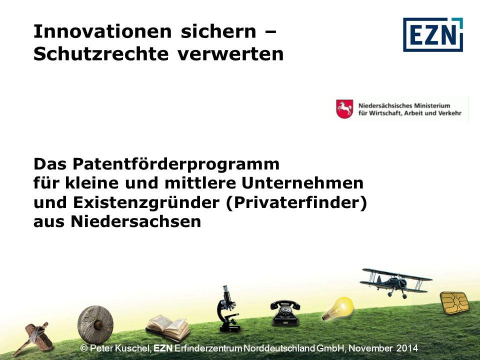Innovationen sichern – Schutzrechte verwerten