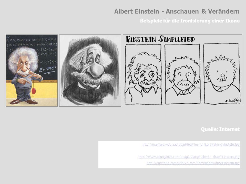 Albert Einstein - Anschauen & Verändern