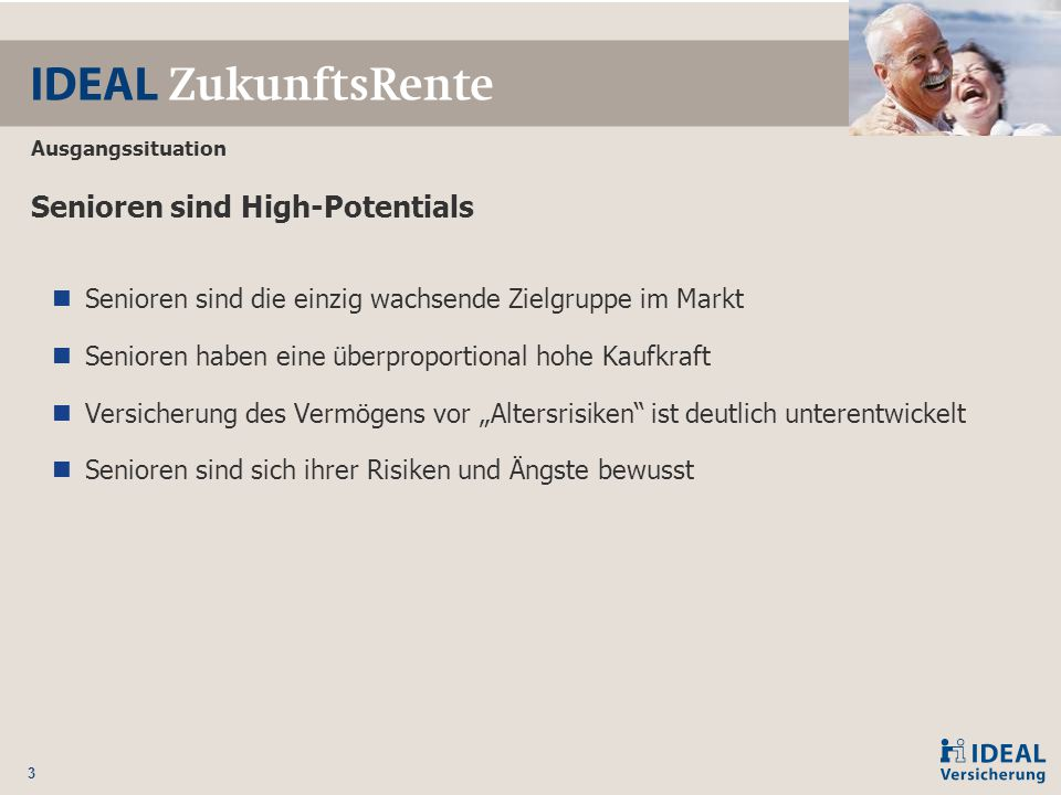 Senioren sind High-Potentials