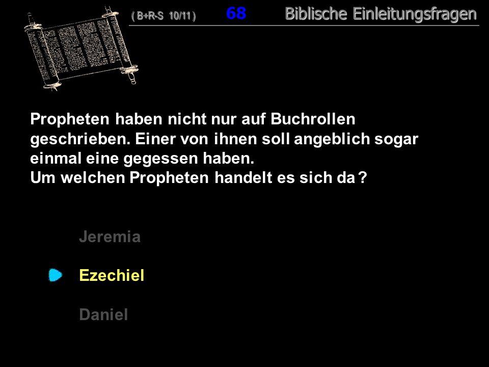 Um welchen Propheten handelt es sich da