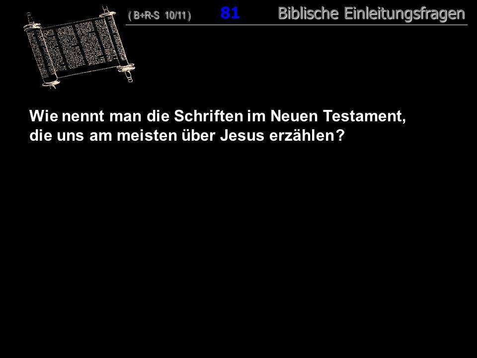 Wie nennt man die Schriften im Neuen Testament,