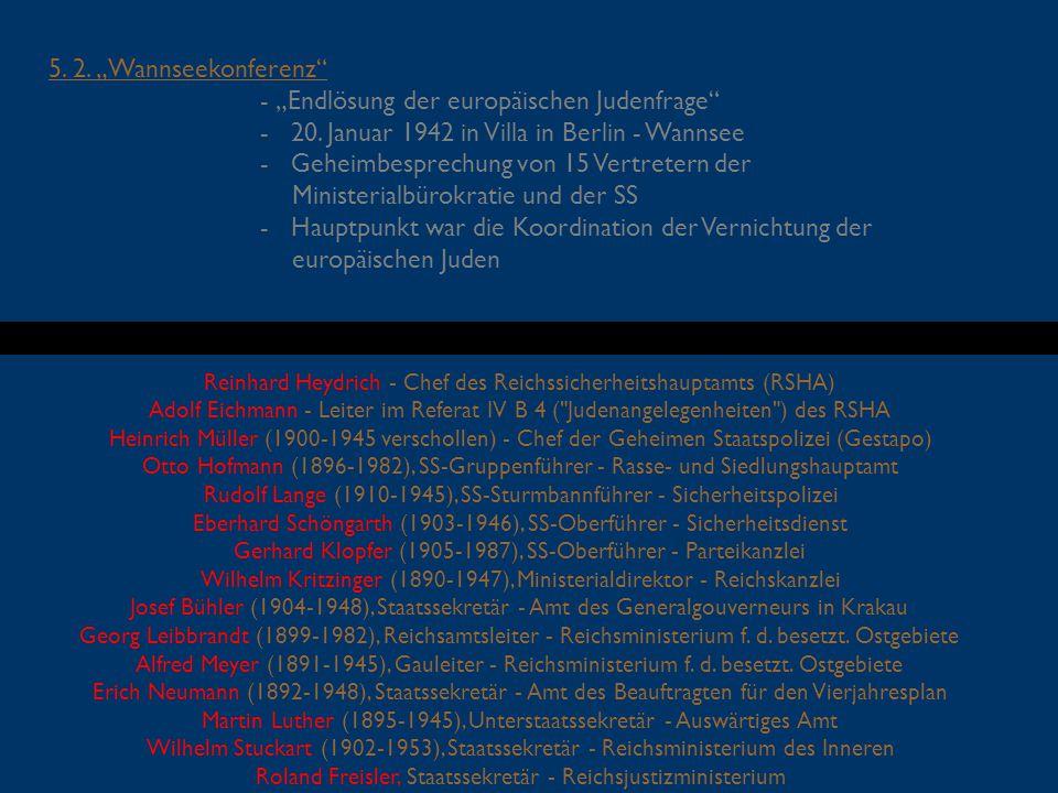 """- """"Endlösung der europäischen Judenfrage"""