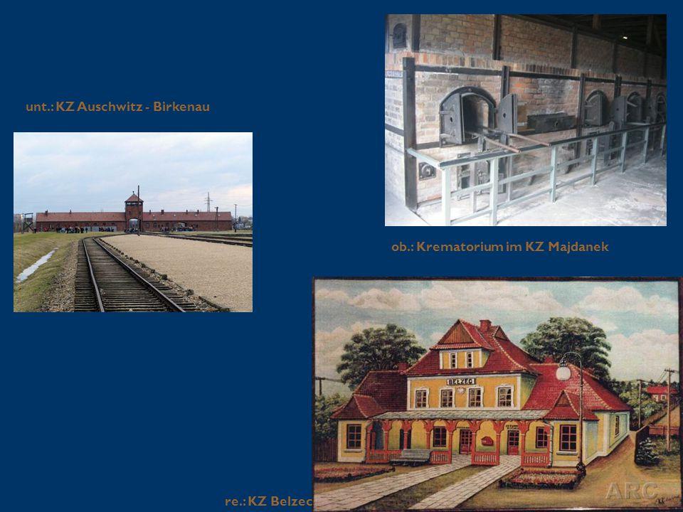 unt.: KZ Auschwitz - Birkenau