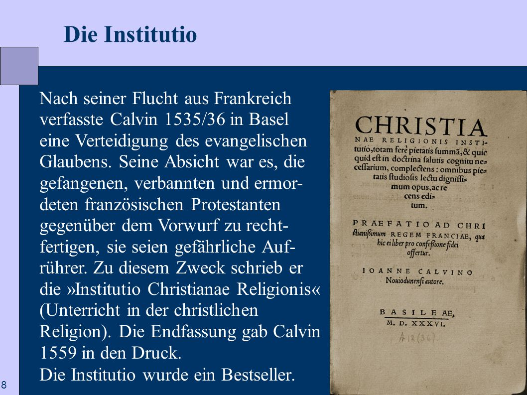 Die Institutio
