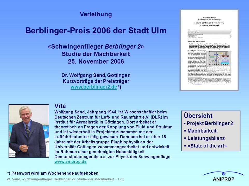 Berblinger-Preis 2006 der Stadt Ulm