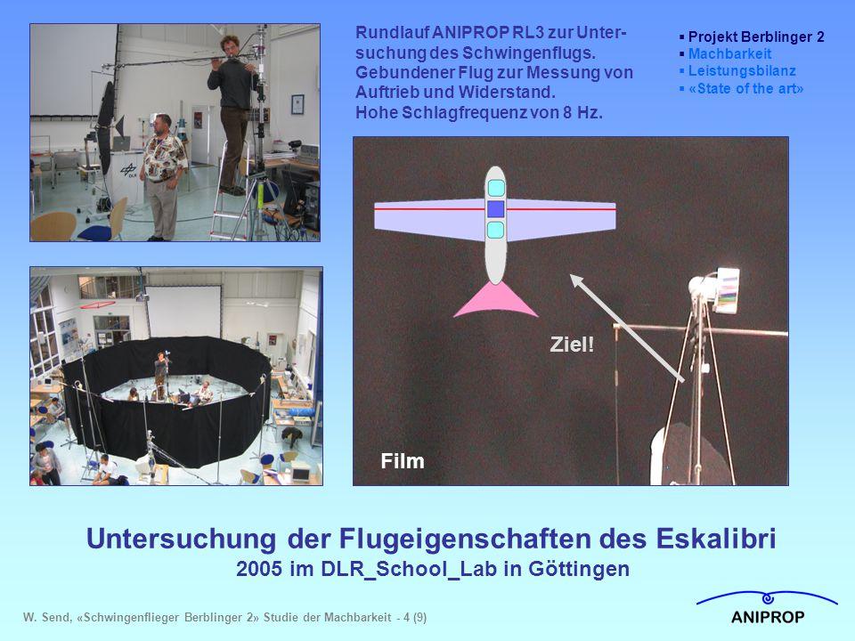Untersuchung der Flugeigenschaften des Eskalibri