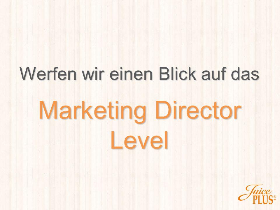 Marketing Director Level