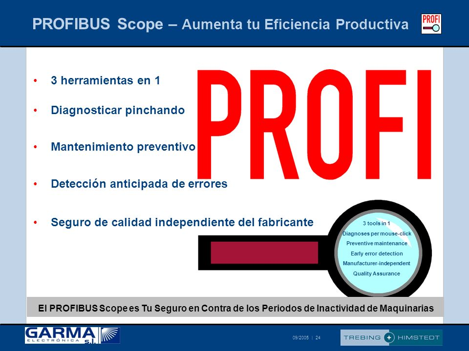PROFIBUS Scope – Aumenta tu Eficiencia Productiva