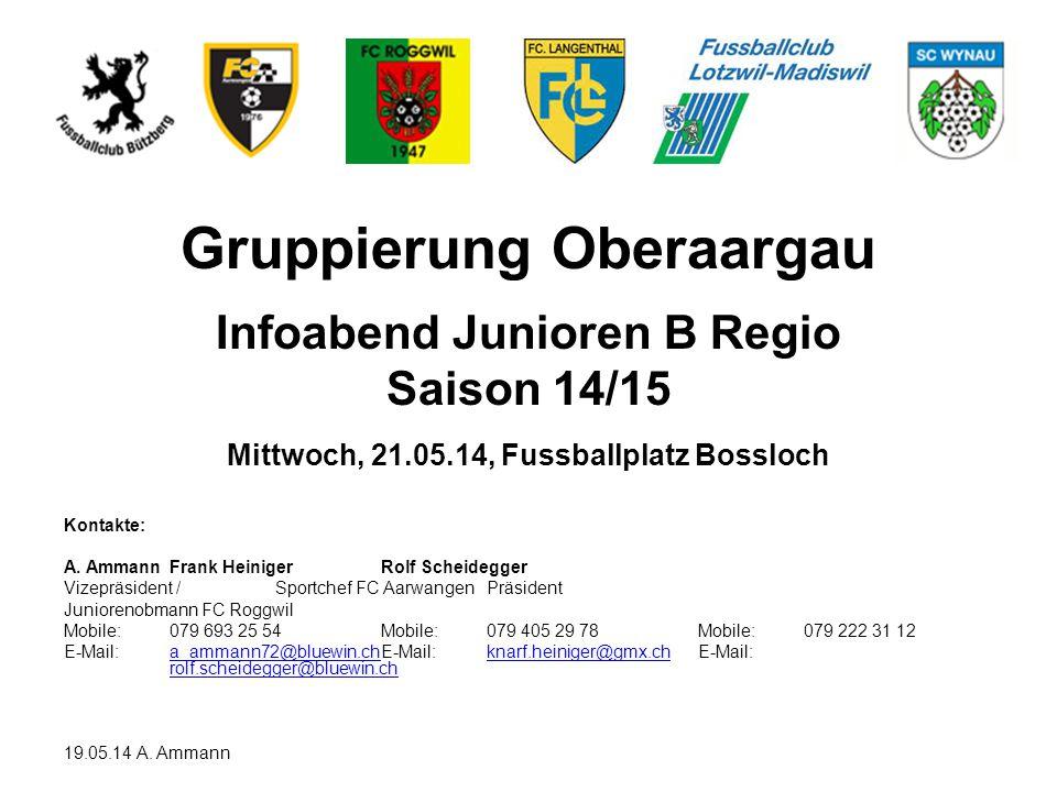 Gruppierung Oberaargau