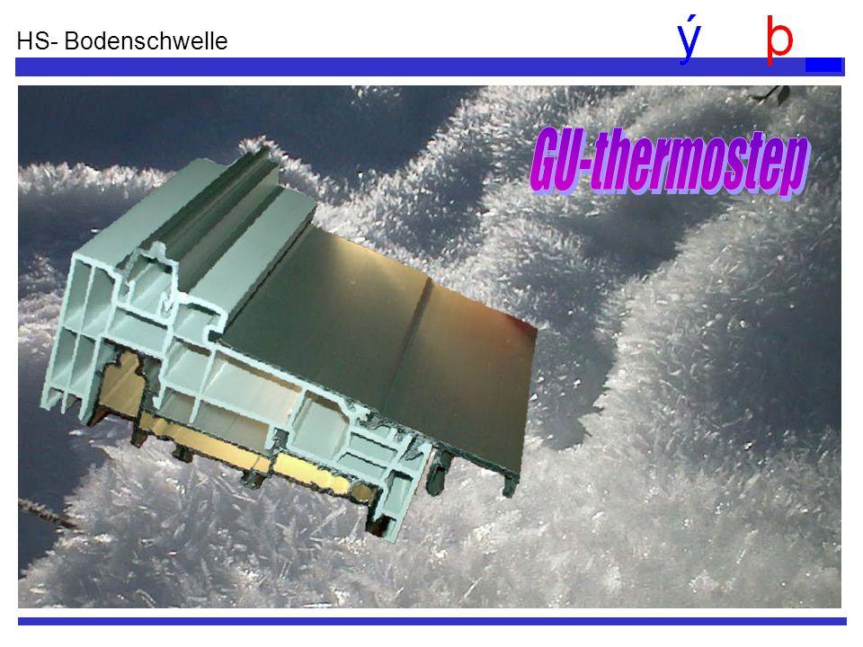 HS- Bodenschwelle GU-thermostep