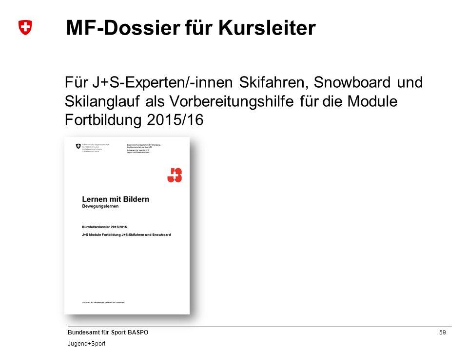 MF-Dossier für Kursleiter