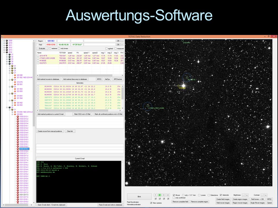 Auswertungs-Software