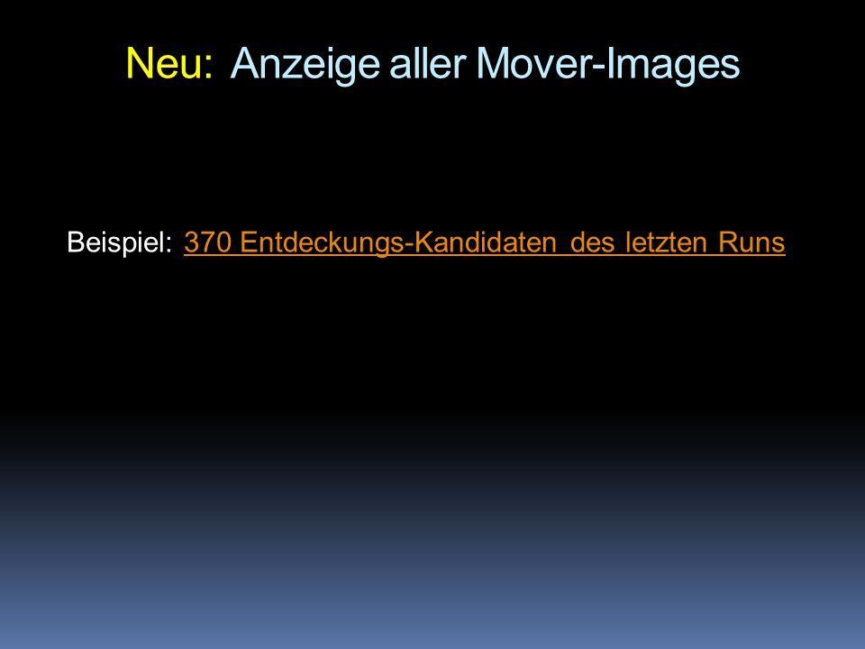 Neu: Anzeige aller Mover-Images