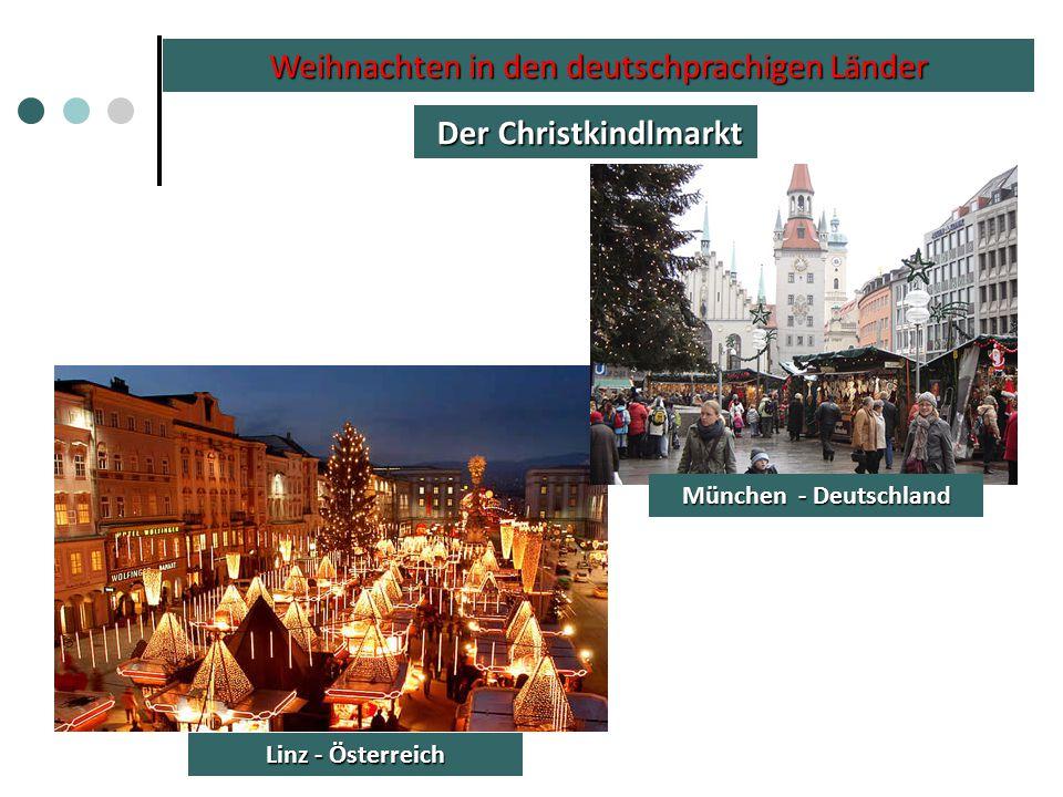 Weihnachten in den deutschprachigen Länder