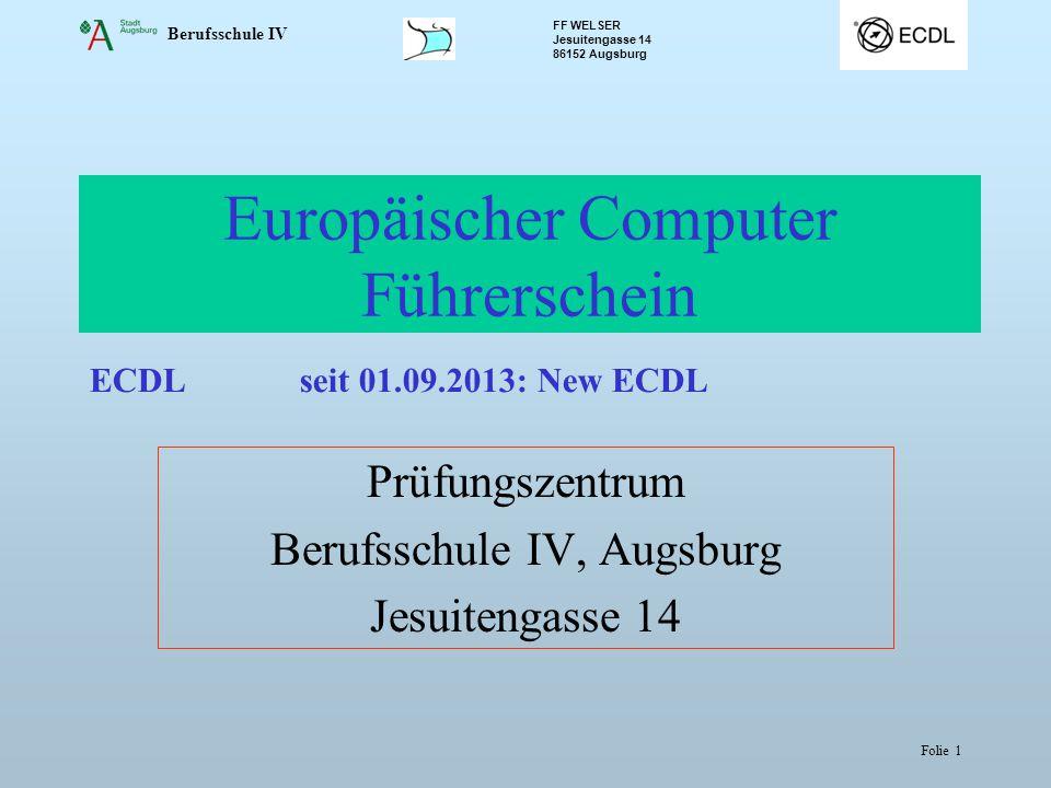 Europäischer Computer Führerschein