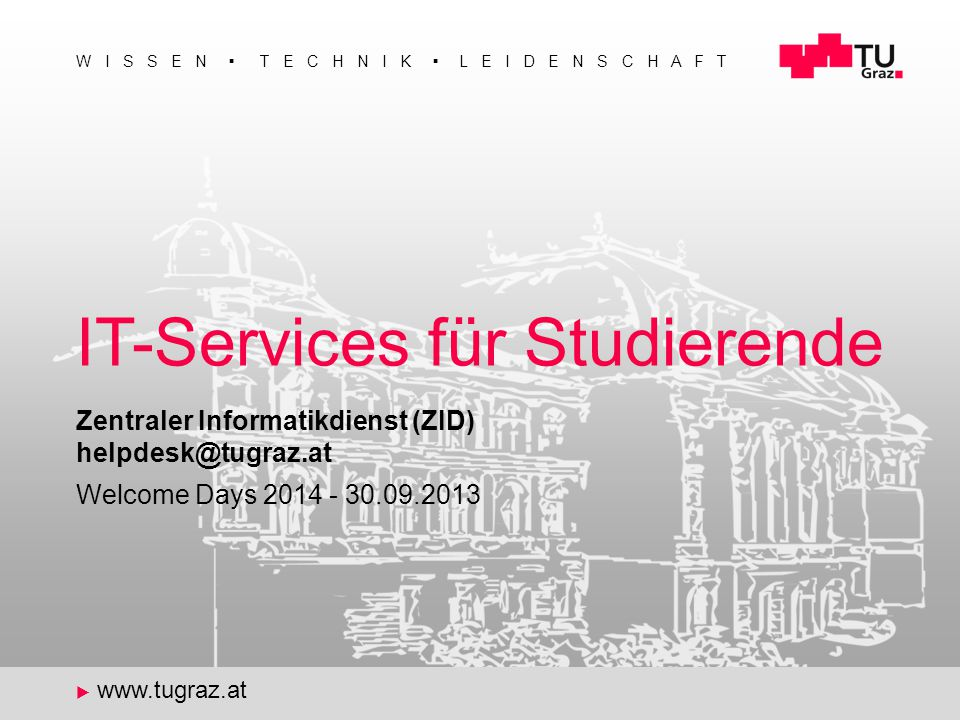 IT-Services für Studierende