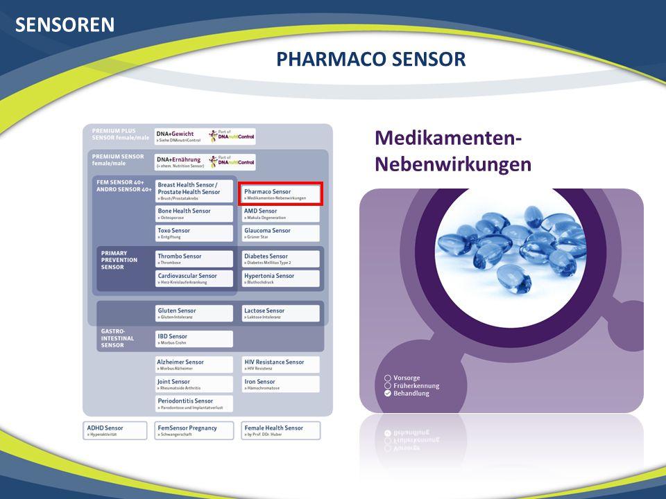 SENSOREN PHARMACO SENSOR Medikamenten-Nebenwirkungen