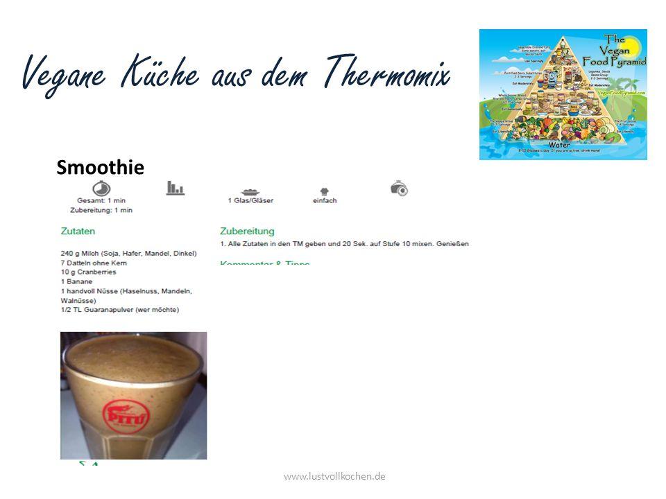 Vegane Küche aus dem Thermomix