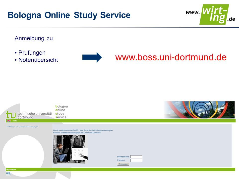 Bologna Online Study Service